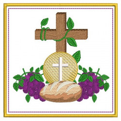 EMBROIDERED ALTAR CLOTHS COMMUNION 184