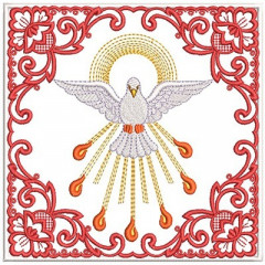 EMBROIDERED ALTAR CLOTHS PENTECOST 82