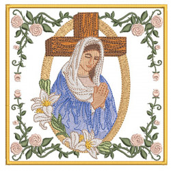 EMBROIDERED ALTAR CLOTHS OUR LADY OF SORROWS 83