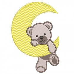 BEAR ON THE MOON APPLIED 1