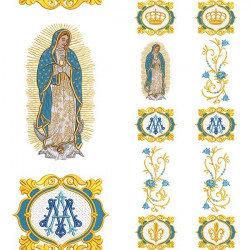 SET FOR GAL OUR LADY OF GUADALUPE