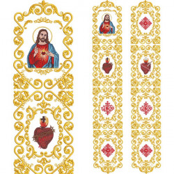 CONJUNTO PARA GALÃO SAGRADO CORAÇÃO DE JESUS