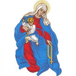 OUR LADY OF THE ROSARY 4