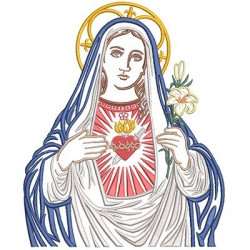 IMMACULATE HEART OF MARY 25 CM