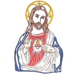 SACRED HEART OF JESUS 25 CM