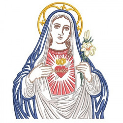 IMMACULATE HEART OF MARY 20 CM