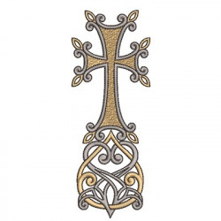 DECORATED CROSS 137
