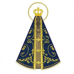 OUR LADY APPEARED 30 CM APPLICATION