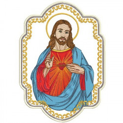 SACRED HEART OF JESUS FOR STANDARDS