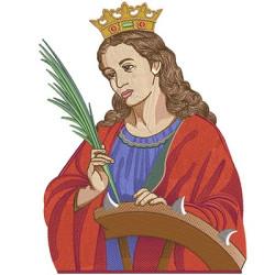 HOLY CATHARINE 35 CM