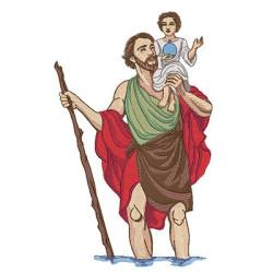 SAINT CRISTOBAL 26 CM