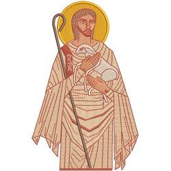 JESUS BOM PASTOR 16 CM