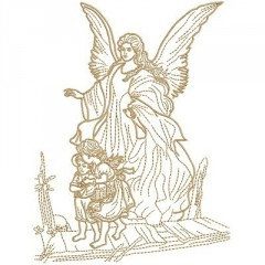 GUARD ANGEL CONTOURED