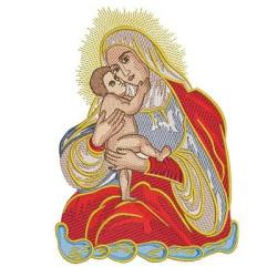 NOSSA SENHORA E JESUS BEBÊ