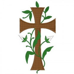 GREAT CROSS WITH BRANCHES