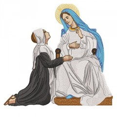 HOLY CATHARINE AND OUR LADY OF GRACE