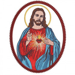 HEART SACRED MEDAL OF JESUS 2