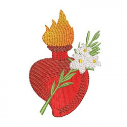 HEART OF SAINT JOSEPH 10 CM