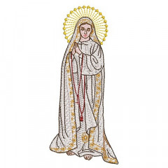 OUR LADY OF FATIMA 14 CM