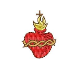 SACRED HEART OF JESUS 4 CM