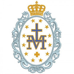 MEDAL OF OUR LADY GRACE 1