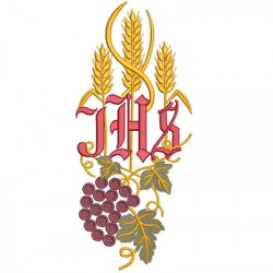 JHS WHEAT AND GRAPES 27 CM