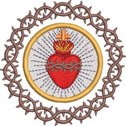 CROWN OF THORNS SACRED HEART