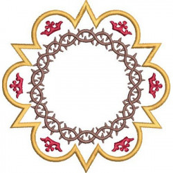 FRAME WITH CROWN OF THORNS 1