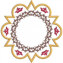 FRAME WITH CROWN OF THORNS 2