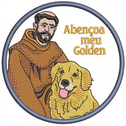 ST FRANCIS BLESS MY GOLDEN PT