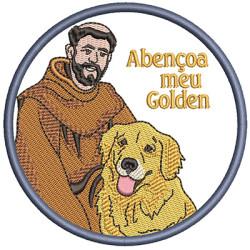 SÃO FRANCISCO ABENÇOE MEU GOLDEN