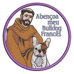 ST FRANCIS BLESS MY BULLDOG FRENCH PT