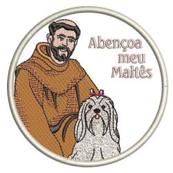 ST FRANCIS BLESS MY MALTESE PT