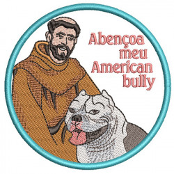 ST FRANCIS BLESS MY AMERICAN BULLY PT