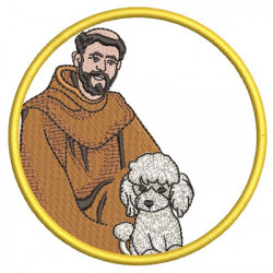 ST FRANCIS BLESS MY POODLE 2