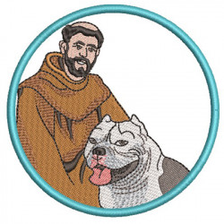 ST FRANCIS BLESS MY AMERICAN BULLY 2