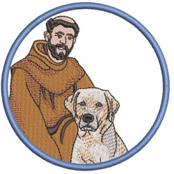 ST FRANCIS BLESS MY LABRADOR 2