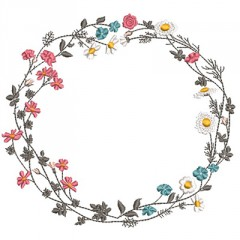 GARLAND FIELD OF FLOWERS
