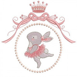 BALLERINA RABBIT IN FRAME 1