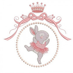 BALLERINA RABBIT IN FRAME 2