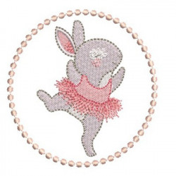 BALLERINA RABBIT IN FRAME 3