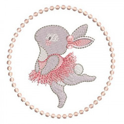 BALLERINA RABBIT IN FRAME 4