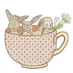 BUNNIES IN THE CUP 1
