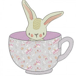 BUNNIE IN THE CUP 2