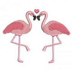 FLAMINGOS COUPLE 2