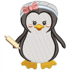 PENGUIN GIRL COOK 3