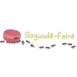 FORMIGAS CARREGADEIRAS SEGUNDA-FEIRA