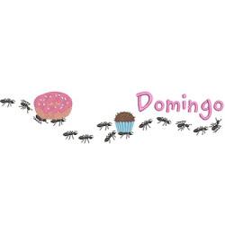 FORMIGAS CARREGADEIRAS DOMINGO