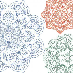 25 MANDALAS PACKAGE