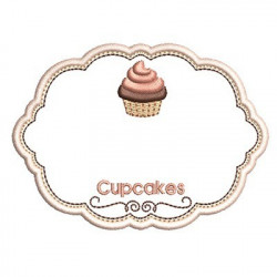 CUSTOM FRAME FOR CUPCAKES 2